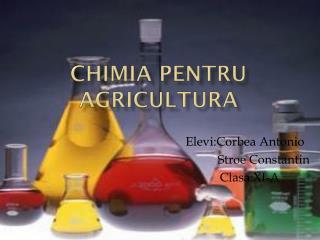 Chimia pentru agricultura