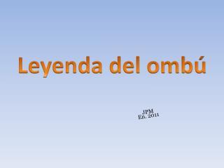 Leyenda del ombú