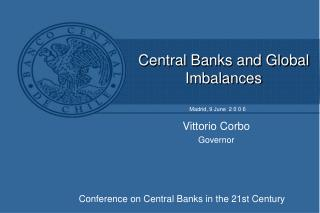 Central Banks and Global Imbalances