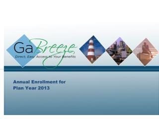 Annual Enrollment for Plan Year 2013