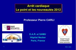 Professeur Pierre CARLI