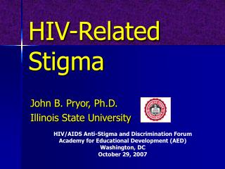HIV-Related Stigma