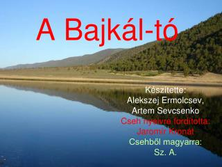 A Bajkál-tó