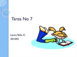 Tarea No 7