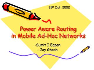 Power Aware Routing  in Mobile Ad-Hoc Networks