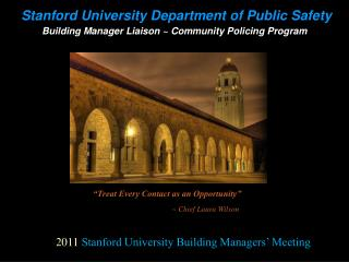Stanford University Department of Public Safety