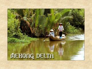 El Delta del Mekong.