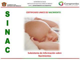 Subsistema de Información sobre Nacimientos