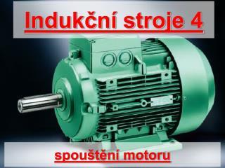 spouštění motoru