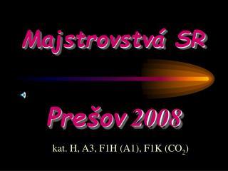 Majstrovstv� SR