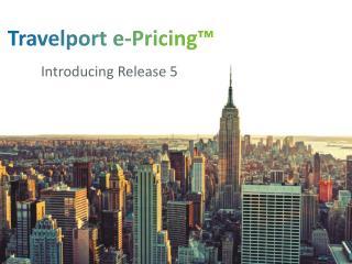 Travelport e-Pricing™