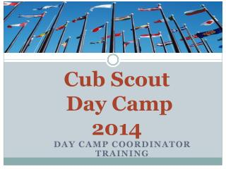 Cub Scout  Day Camp 2014