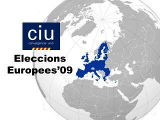 Eleccions Europees'09