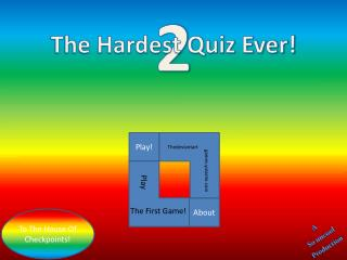 The Hardest Quiz Ever!