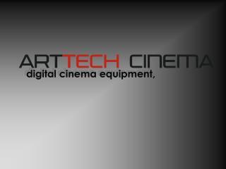 digital cinema equipment,