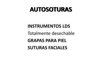 AUTOSOTURAS
