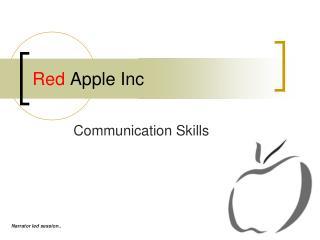 Red  Apple Inc