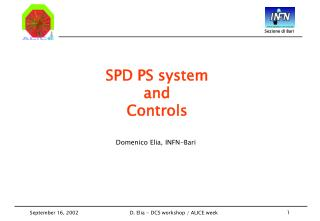 SPD PS system  and  Controls