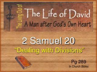 2 Samuel 20