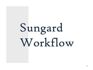 Sungard Workflow