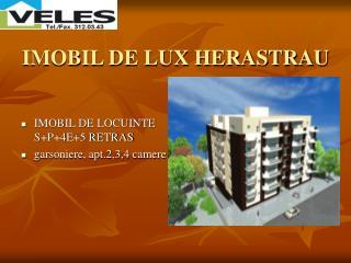 IMOBIL DE LUX HERASTRAU