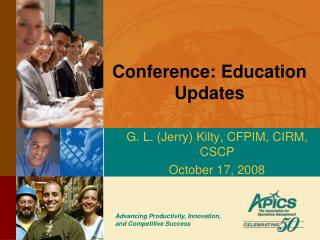 Conference: Education Updates