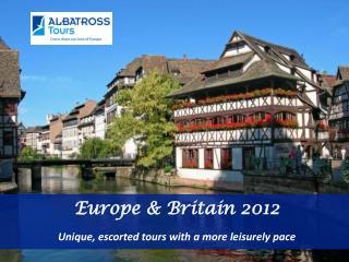 Europe & Britain 2012