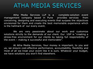 ATHA MEDIA SERVICES