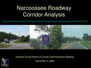 Narcoossee Roadway Corridor Analysis