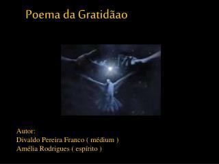 Poema da Gratidãao