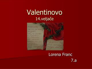Valentinovo 14.veljače