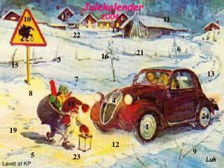 Julekalender 2004 for kvinder