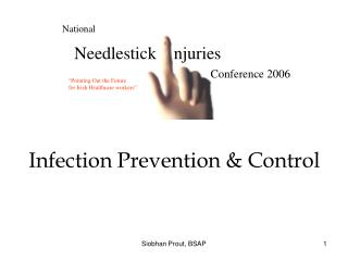 Infection Prevention  Control