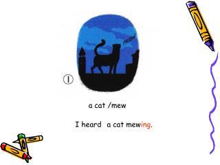 a cat /mew