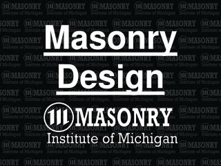 Masonry Design