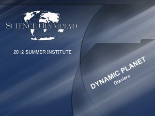 2012 SUMMER INSTITUTE