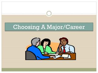Choosing A Major/Career