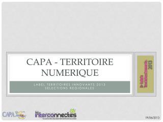 CAPA - TERRITOIRE NUMERIQUE