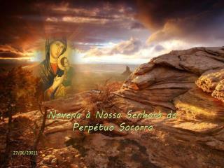 Novena à Nossa Senhora do  Perpétuo Socorro