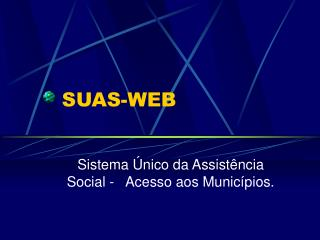SUAS-WEB