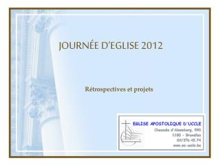 JOURN�E D�EGLISE 2012
