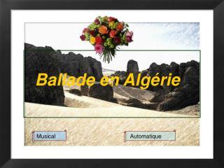 Ballade en Algérie