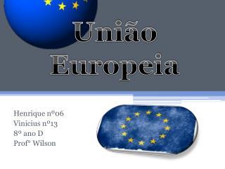 Henrique nº06 Vinicius nº13 8º ano D Prof° Wilson