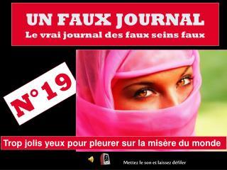 UN FAUX JOURNAL Le vrai journal des faux seins faux