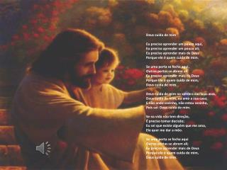 Deus cuida de mim Eu preciso aprender um pouco aqui, Eu preciso aprender um pouco ali;