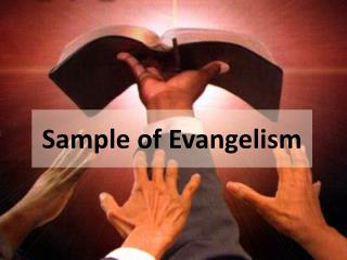 Sample of Evangelism