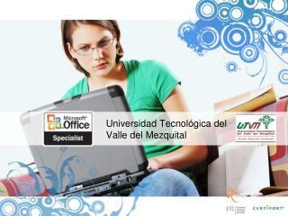 Universidad Tecnol�gica del  Valle del Mezquital