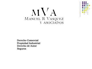 Derecho Comercial  Propiedad Industrial Derecho de Autor Seguros
