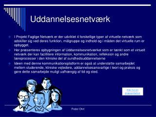 Uddannelsesnetværk