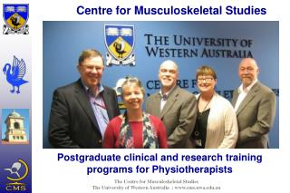 Postgraduate clinical and research training programs for Physiotherapists